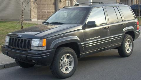 JEEP Grand Cherokee ZG 4/96-99